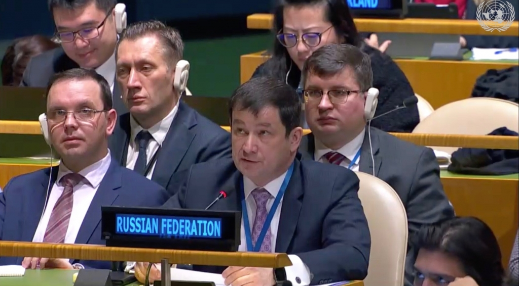 "Statement By First Deputy Permanent Representative Dmitry Polyanskiy at the plenary meeting of the UN General Assembly on agenda item 31(а) ""Prevention of Armed Conflict"""