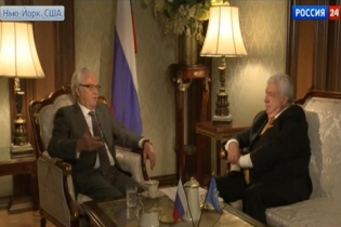 Interview with Permanent Representative of the Russian Federation to the United Nations Vitaly Churkin by the TASS news agency