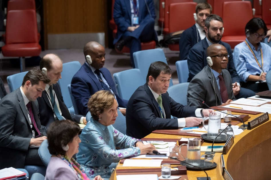 Statement by Chargé d'Affaires of the Russian Federation Dmitry Polyanskiy at the UN Security Council meeting on Syria