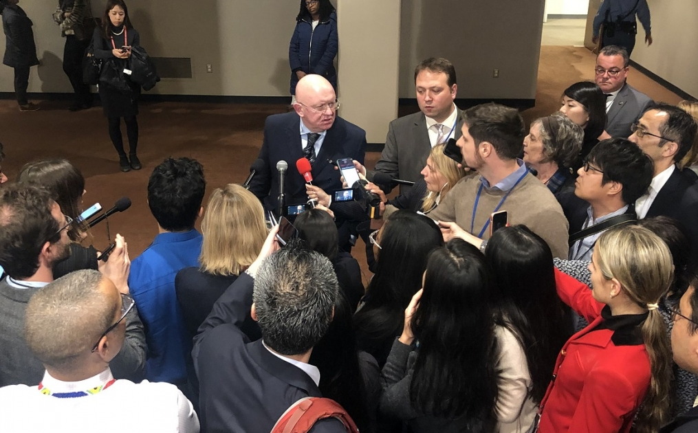 Remarks to the Press by Permanent Representative Vassily Nebenzia after Security Council briefing on the situation on the Korean Peninsula