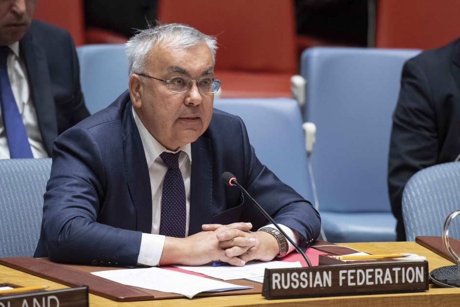 Statement by Deputy Minister of Foreign Affairs Sergey Vershinin at the UN Security Council Meeting on Syria