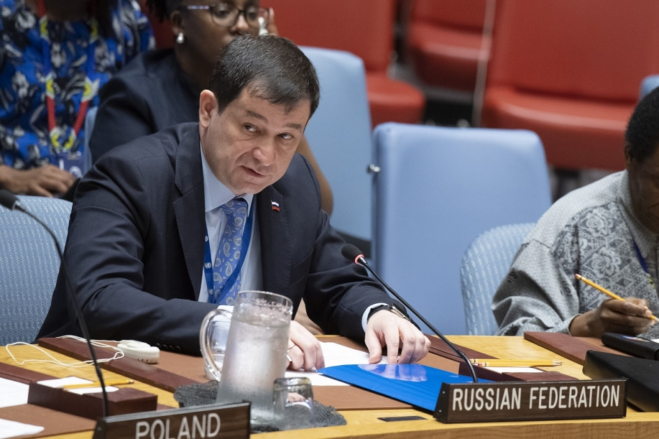 Statement by Acting Permanent Representative Dmitry Polyanskiy at the Security Council open debate on the working methods of the UNSC