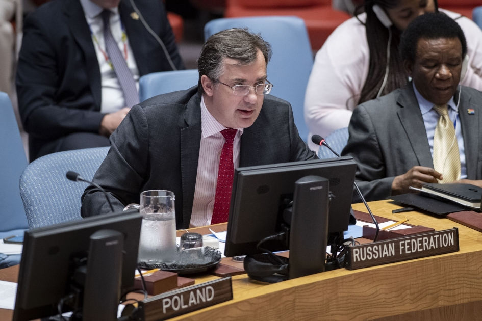 Statement by Deputy Permanent Representative Gennady Kuzmin at the Security Council meeting