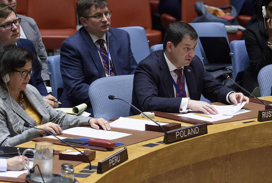 Statement by First Deputy Permanent Representative Dmitry Polyanskiy at the UN Security Council Meeting on Mali