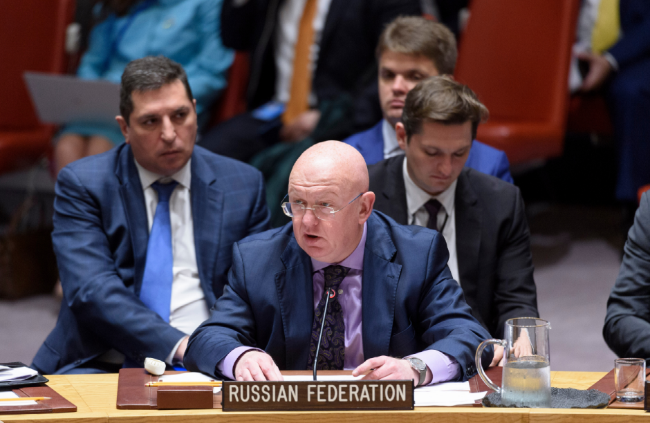 Statement by Permanent Representative Vassily Nebenzia at the UN Security Council Meeting on Cooperation between the Security Council and the League of Arab States