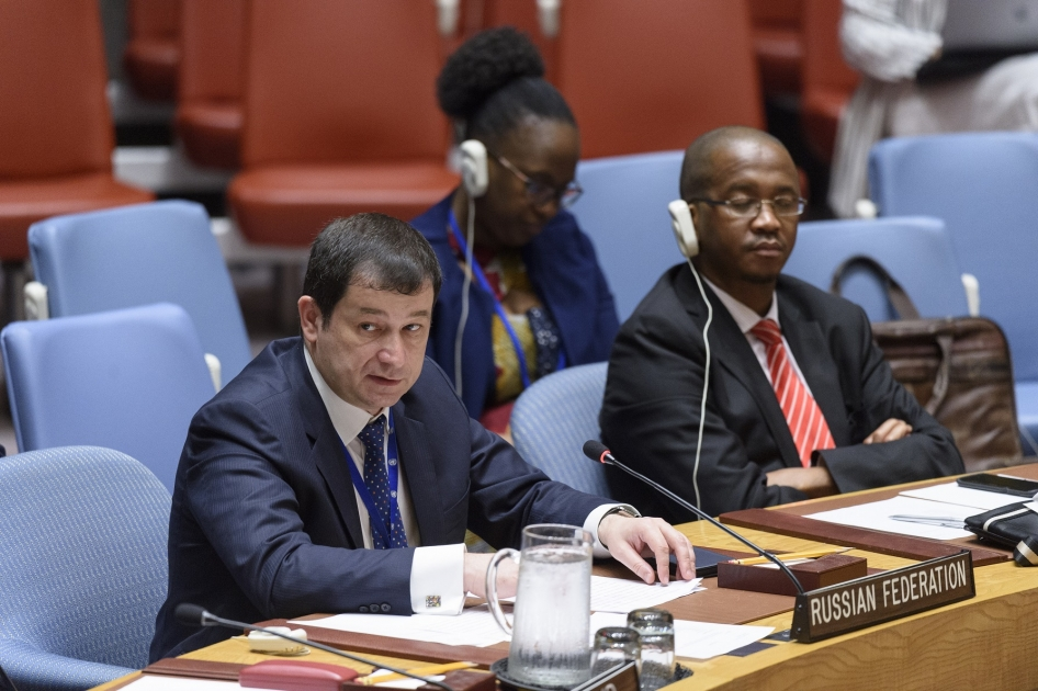 Statement by First Deputy Permanent Representative Dmitry Polyanskiy at the UN Security Council Meeting on Peace Consolidation in West Africa