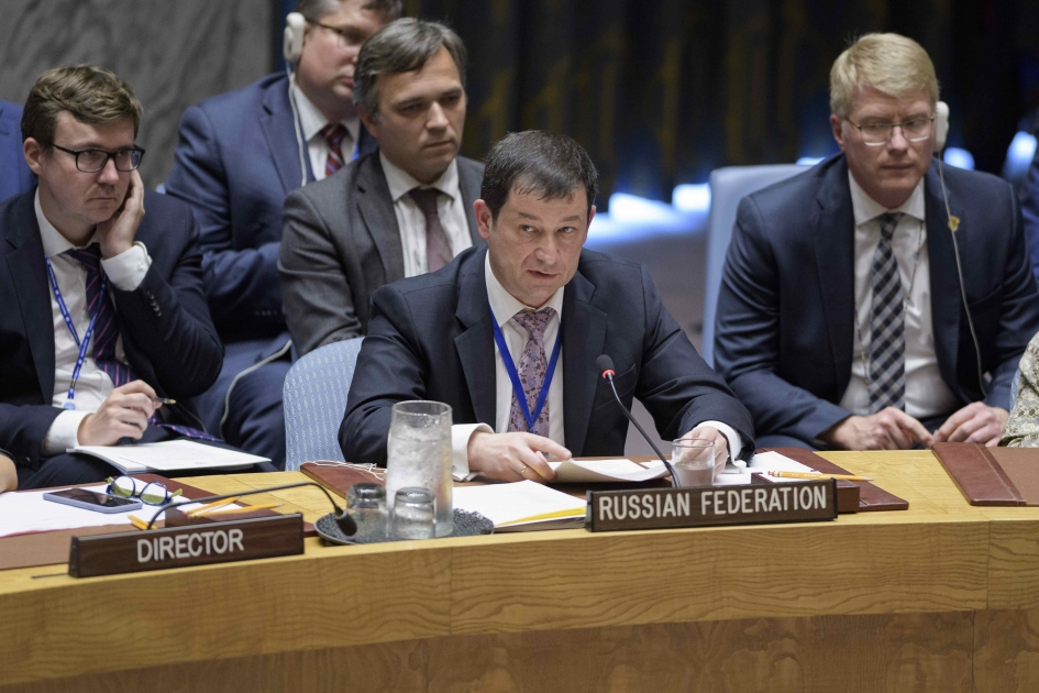 Statement by Chargé d'Affaires of the Russian Federation Dmitry Polyanskiy at the UN Security Council briefing on agenda item