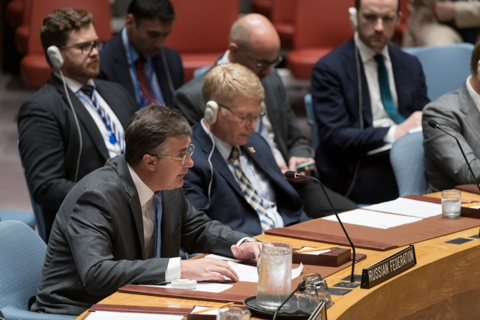 Statement by Deputy Permanent Representative Gennady Kuzmin at UN Security Council briefing