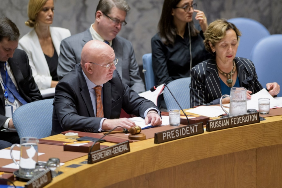 Statement by Permanent Representative Vassily Nebenzia at the UN Security Council Debate on United Nations Peacekeeping Operations