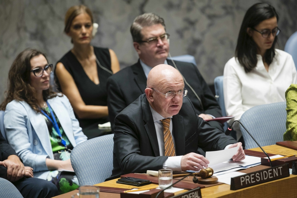 Statement by Permanent Representative Vassily Nebenzia after the UN Security Council vote on Afghanistan