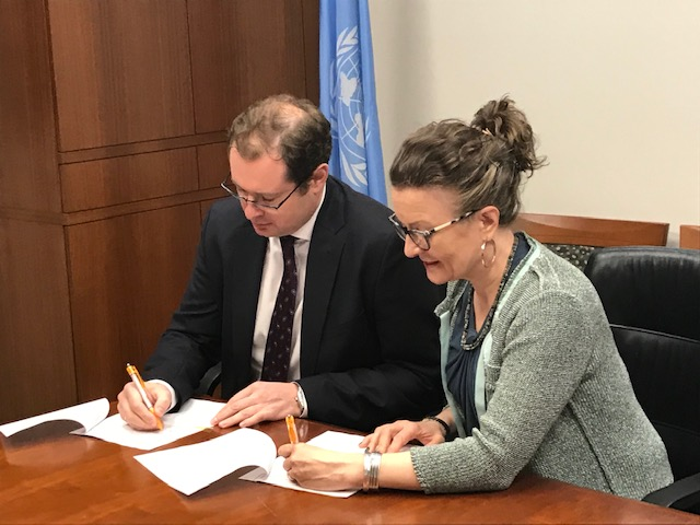 Remarks by Deputy Permanent Representative Dmitry Chumakov at the signing ceremony of donor agreement with the United Nations Population Fund