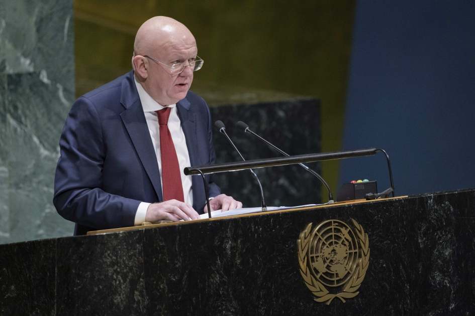 Statement by Permanent Representative of the Russian Federation Vassily Nebenzia at the UNGA meting on Ukraine