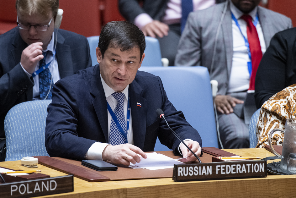 Statement by First Deputy Permanent Representative Dmitry Polyanskiy after the UN Security Council vote on a draft resolution on South Sudan sanctions