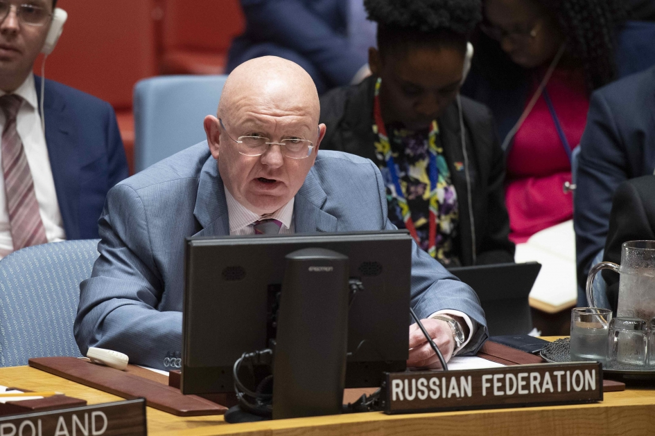 Statement by Permanent Representative Vassily Nebenzia after the Procedural Vote to hold a UN Security Council Meeting on Ukraine