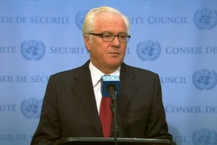 Remarks to the press by Ambassador Vitaly Churkin, Permanent Representative of the Russian Federation to the United Nations, on the situation in the Middle East