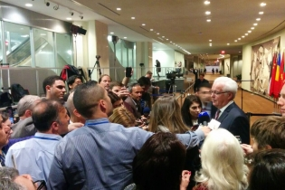 Remarks to the press by Ambassador Vitaly Churkin, Permanent Representative of the Russian Federation to the United Nations, following the UN Security Council consultations on the deployment of Turkish forces in Iraq