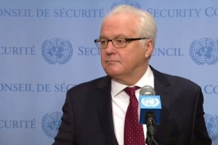 Remarks to the press by Ambassador Vitaly Churkin, Permanent Representative of the Russian Federation to the United Nations, following the UN Security Council consultations on Syria talks