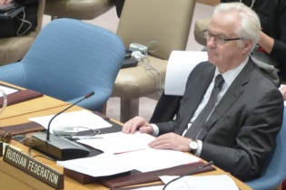 Remarks to the press by the Permanent Representative of Russia to the UN Vitaly Churkin following UN Security Council consultations on Syria