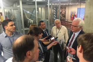 Remarks to the press by Ambassador Vitaly Churkin, Permanent Representative of the Russian Federation to the United Nations, following the UN Security Council meeting on situation in Middle East