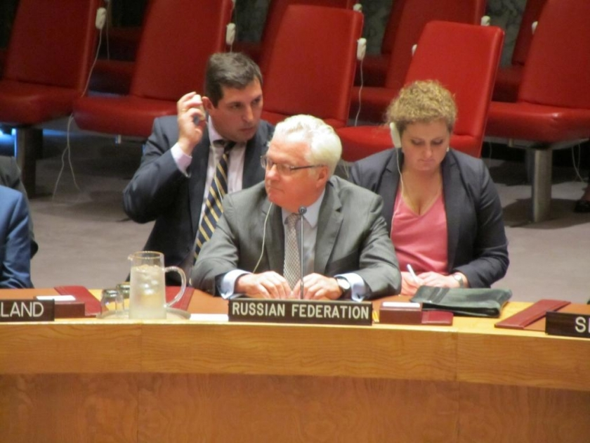 Statement by Ambassador Vitaly I. Churkin, Permanent Representative of the Russian Federation to the United Nations, during the Security Council meeting on the situation in Libya