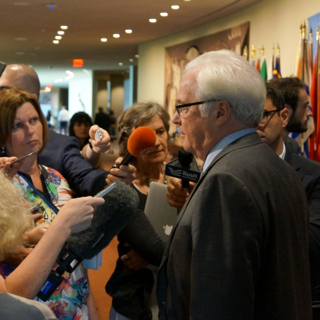 Remarks to the press by Ambassador Vitaly Churkin, Permanent Representative of the Russian Federation to the United Nations, following the UN Security Council consultations on the situation in Ukraine