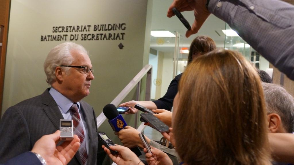 Remarks to the press by Ambassador Vitaly Churkin, Permanent Representative of the Russian Federation to the United Nations, before the UN Security Council meeting on Kosovo