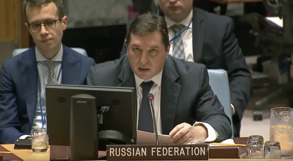 Statement by Mr.Vladimir Safronkov, Deputy Permanent Representative of the Russian Federation to the United Nations, at the Security Council on the resolution 2368 (2017), on the sanctions related to the Islamic State in Iraq and the Levant (ISIL) and Al-Qaida