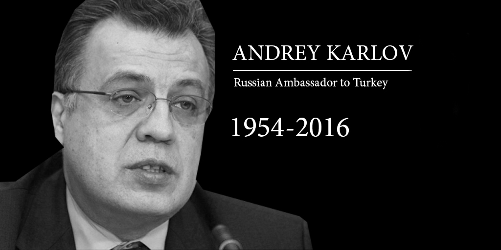 PRESS-RELEASE of the Permanent Mission of the Russian Federation to the UN on the reaction of the United Nations to the assassination of the Russian Ambassador in Turkey Andrey Karlov