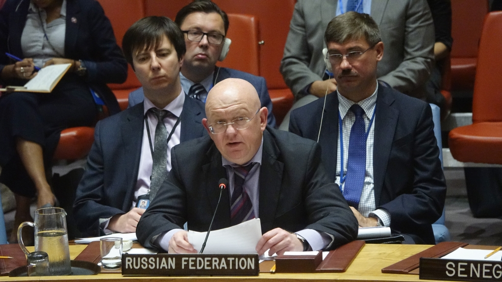 Statement by Ambassador Vassily A. Nebenzia, Permanent Representative of the Russian Federation to the United Nations, during the UN Security Council meeting on the situation in Myanmar