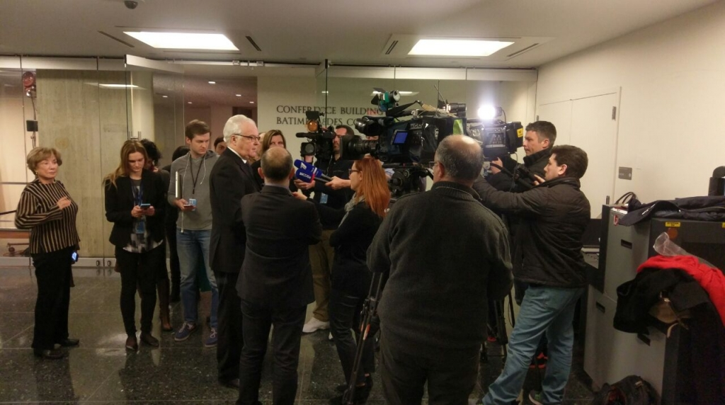 Remarks to the press by Ambassador V.Churkin,  Permanent Representative of the Russian Federation to the United Nations, following the Security Council meeting on the situation in the Eastern Ukraine