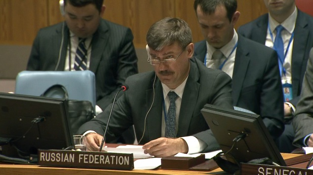 Statement and remarks by Mr. Petr Iliichev, Chargé d'Affaires, at the Security Council on the situation in the Middle East