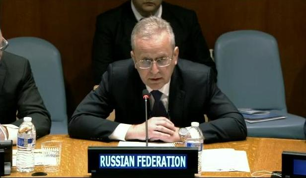 Statement by Mr. Sergey Kononuchenko, Deputy Permanent Representative of the Russian Federation to the United Nations, at the Round Table