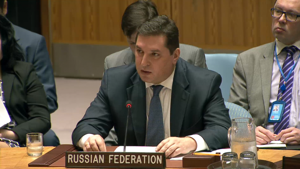 Statement by Mr. Vladimir Safronkov, Deputy Permanent Representative of the Russian Federation to the United Nations, at the Security Council on the situation in Bosnia and Herzegovina