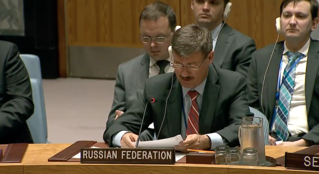Statement by Mr. Petr Iliichev, Chargé d'Affaires, at the Security Council on  United Nations peacekeeping operations
