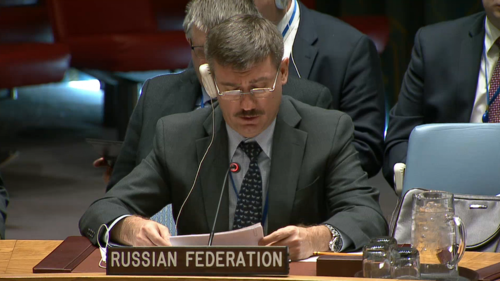 Statement by Mr. Petr Iliichev, Chargé d'Affaires, at the Security Council on the Sudan and South Sudan