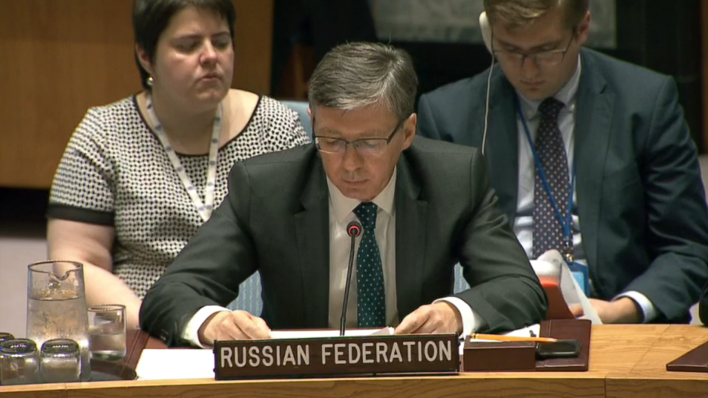Statement by Mr. Evgeniy Zagaynov, Deputy Permanent Representative of the Russian Federation to the United Nations, at the Security Council on Fifth report of the Secretary-General on the threat posed by ISIL (Da'esh) to international peace and security and the range of United Nations efforts in support of Member States in countering the threat (S/2017/467)
