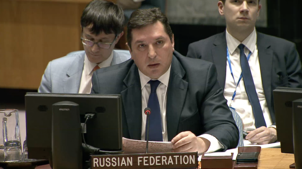 Statement by Mr.Vladimir Safronkov, Deputy Permanent Representative of the Russian Federation to the United Nations, at the Security Council on the situation  in the Middle East, including the Palestinian question