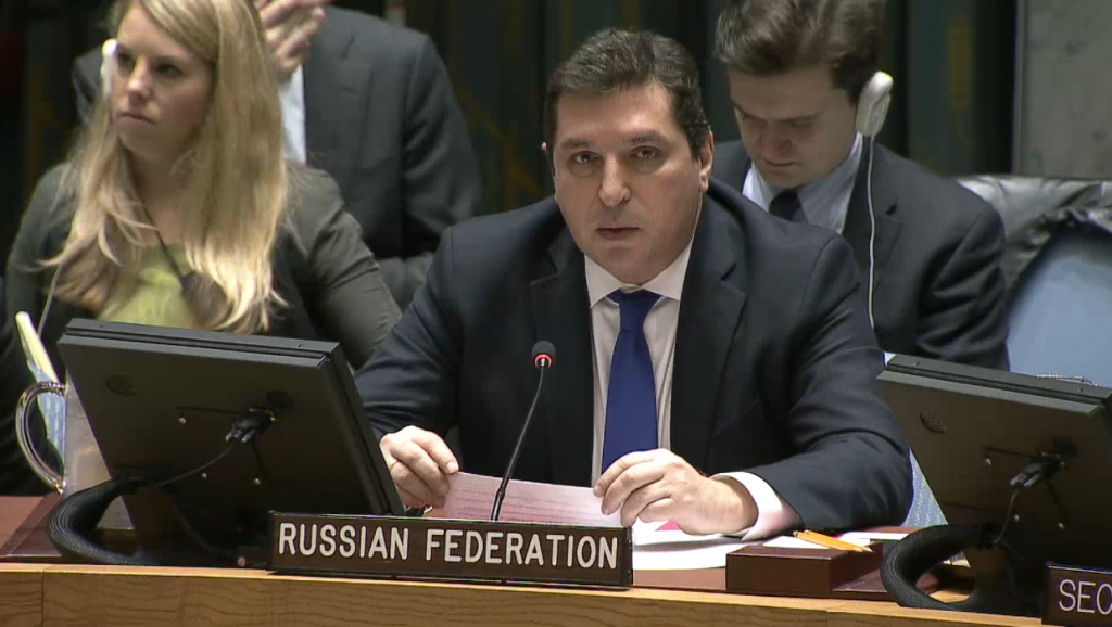 Statement by Mr.Vladimir Safronkov, Deputy Permanent Representative of the Russian Federation to the United Nations, at the Security Council on the situation in Afghanistan
