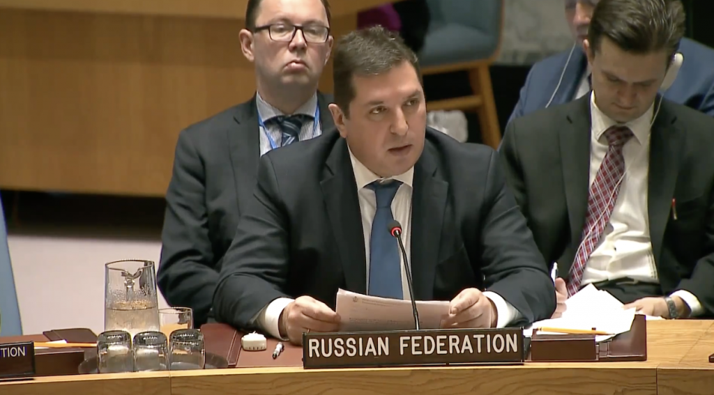 Statement by Mr.Vladimir Safronkov, Deputy Permanent Representative of the Russian Federation to the United Nations, at the Security Council on non-proliferation of weapons of mass destruction