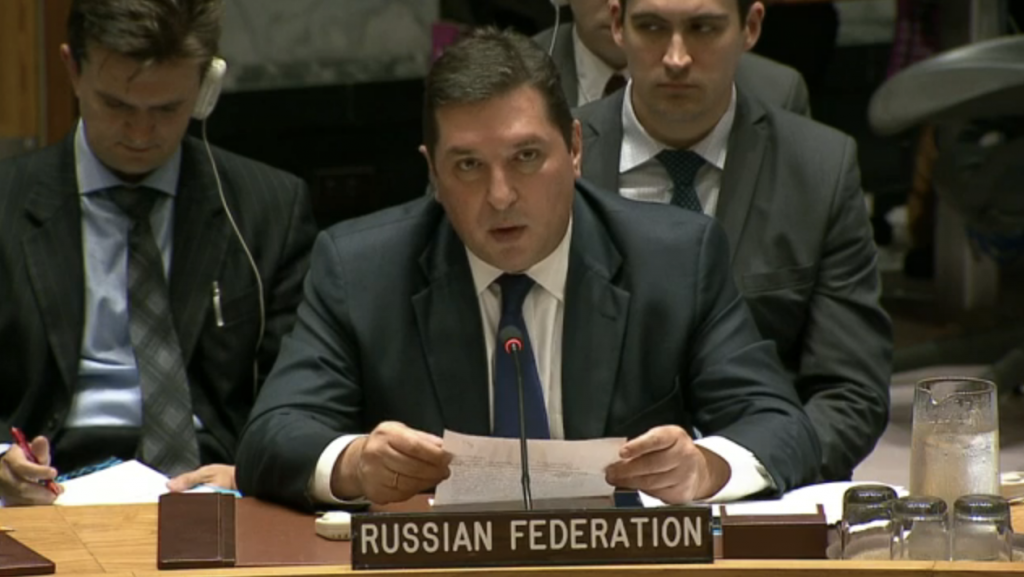 Statement by Mr.Vladimir Safronkov, Deputy Permanent Representative of the Russian Federation to the United Nations, at the Security Council on the Democratic People's Republic of Korea