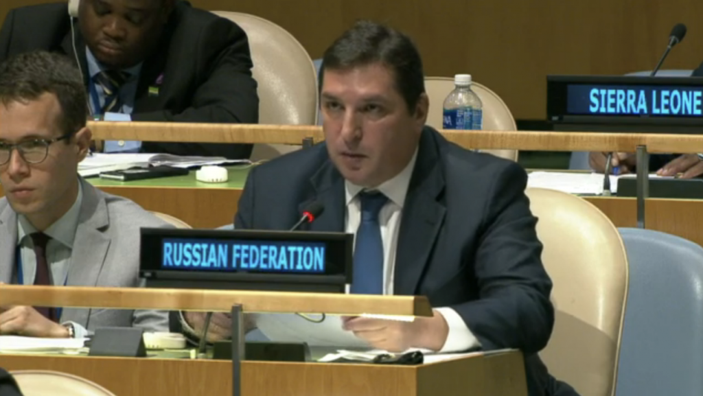 Statement by Vladimir Safronkov, Deputy Permanent Representative of the Russian Federation, at the plenary meeting of the UN General Assembly on Agenda item 122 (Question of equitable representation on and increase in the membership of the Security Council and other matters related to the Security Council)