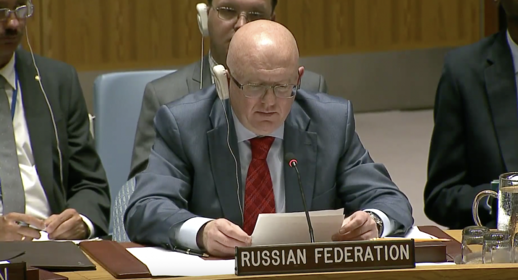 Statement by Ambassador Vassily A. Nebenzia, Permanent Representative of the Russian Federation to the United Nations, during the UN Security Council meeting on the United Nations peacekeeping operations and their potential contribution to the overarching goal of sustaining peace