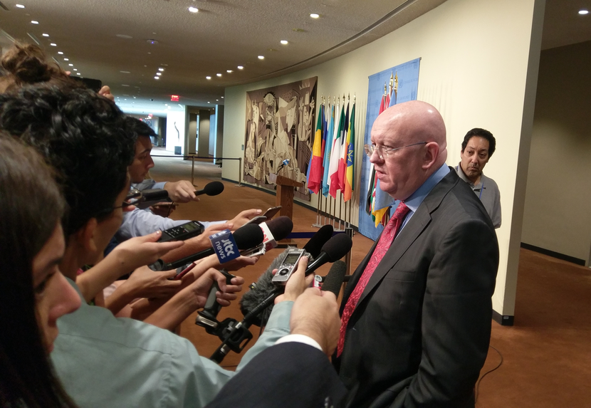 Remarks to the press by Ambassador Vassily Nebenzia, Permanent Representative of the Russian Federation  to the United Nations, following the UNSC meeting on the DPRK
