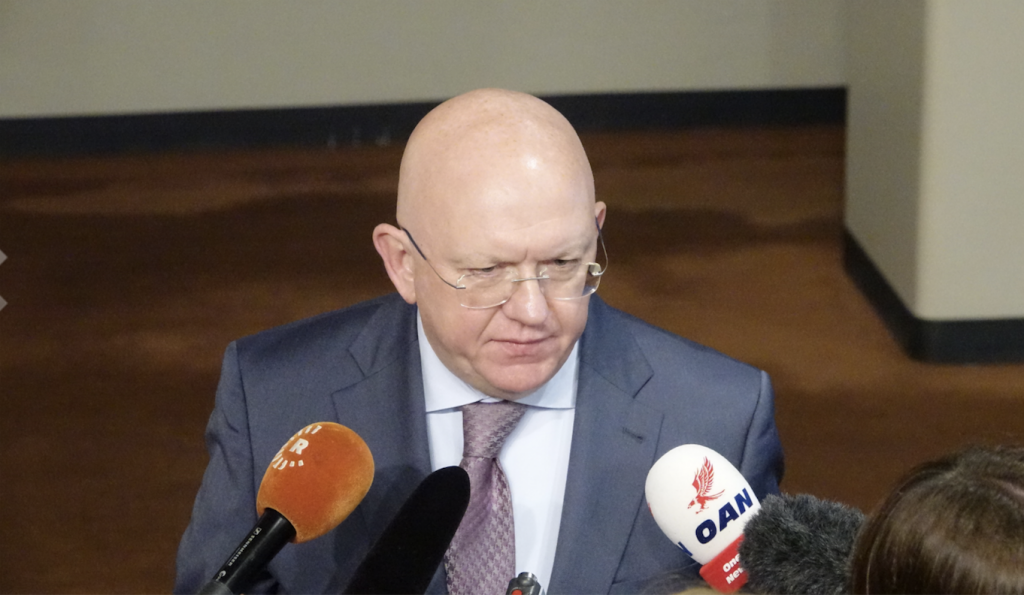 Remarks to the press by Ambassador Vassily Nebenzia, Permanent Representative of the Russian Federation to the United Nations