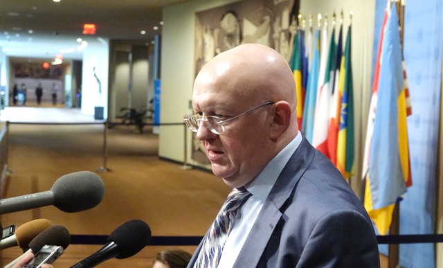 Remarks to the press by Ambassador Vassily Nebenzia, Permanent Representative of the Russian Federation to the United Nations following the Security Council consultations  on North Korea
