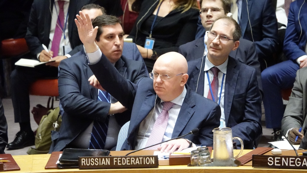 Statement by Ambassador Vassily A. Nebenzia, Permanent Representative of the Russian Federation to the United Nations, during the UN Security Council meeting on the US resolution after the vote on extending the JIM mandate