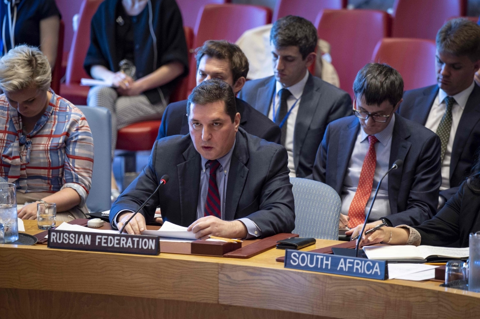Statement by Deputy Permanent Representative Vladimir Safronkov at the UN Security Council Meeting on Syria