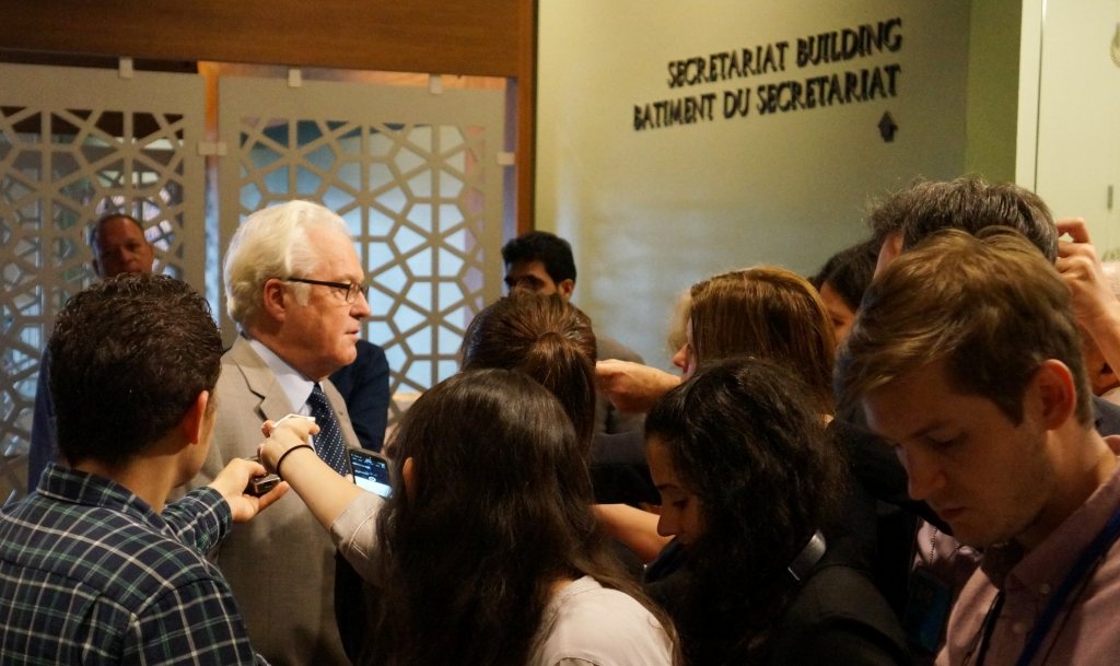 Remarks to the press by Ambassador Vitaly Churkin, Permanent Representative of the Russian Federation to the United Nations, before the UN Security Council consultations on the situation in Ukraine