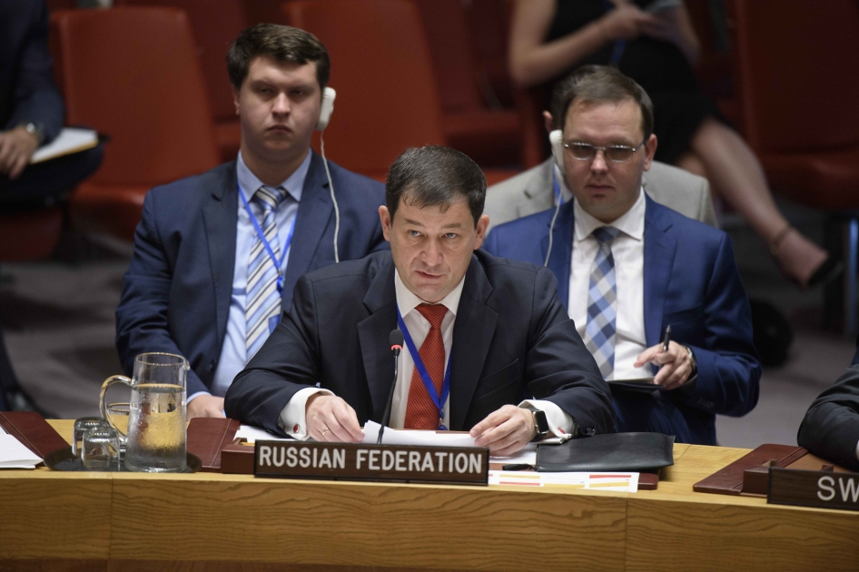 Statement by Mr.Dmitry Polyansky, First Deputy Permanent Representative of the Russian Federation to the United Nations, at the Security Council on the sitiation in Haiti