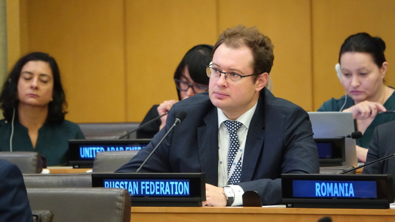 Statement by Mr. Dmitry Chumakov, Deputy Permanent Representative of the Russian Federation to the UN, at the Fifth Committee of the United Nations General Assembly, Main 73rd Session,